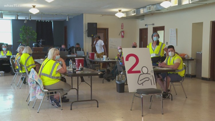 Louvax continues community vaccine push with mobile community clinics
