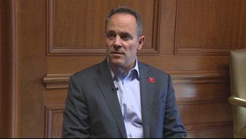'I want what's best for Kentucky': Gov. Bevin sits down for one-on-one ahead of recanvass