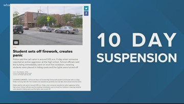 Possible punishment for Atherton firecracker incident