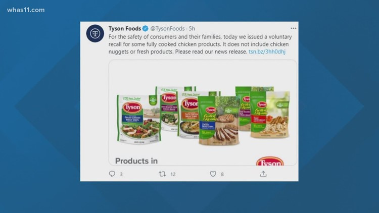 Check your fridge: Tyson recalls more than 8 million pounds of chicken due to listeria concerns
