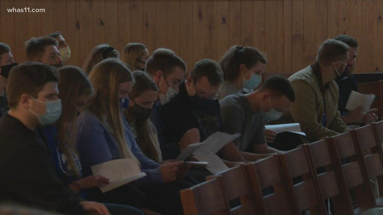 Pray service held after UK student's death