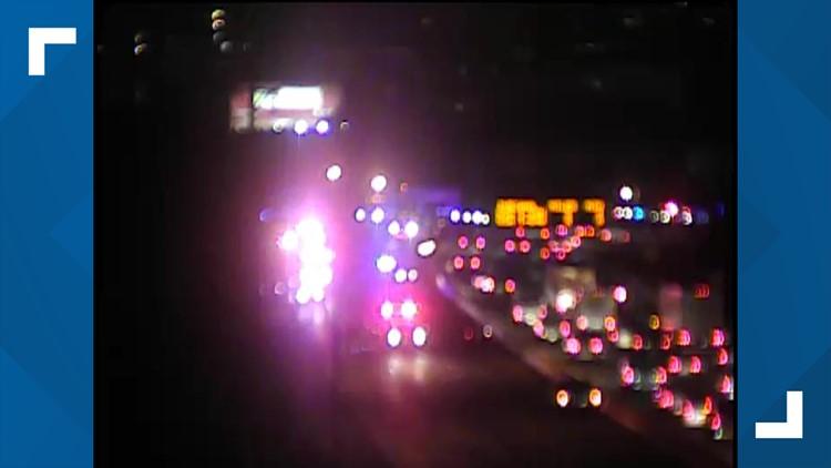 Fatal crash shuts down I-65 South near St. Catherine Street