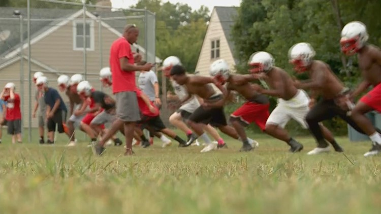 As heat indexes rise, high school football teams promote safety first during practices