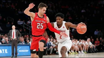 Texas Tech downs No. 1 Louisville 70-57