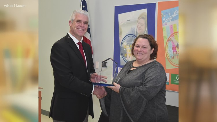 Shelby County teacher wins ExCEL Award for making most of NTI