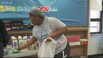 Students lend a helping hand to homeless