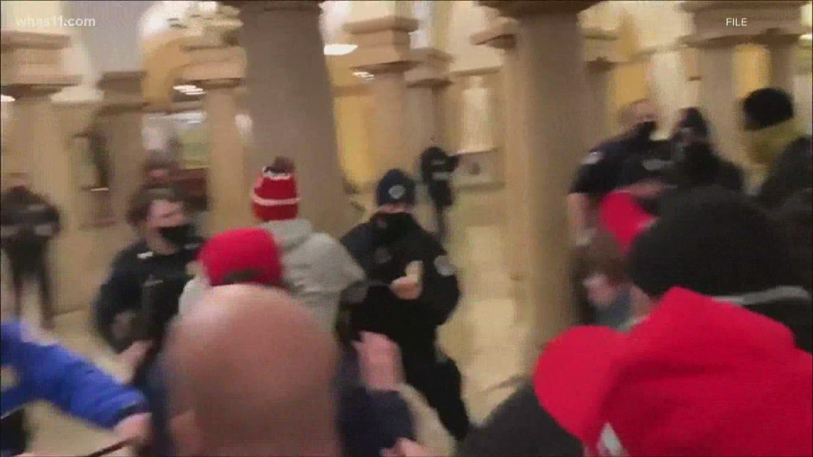 Louisville FBI: Louisville man charged in Capitol riot