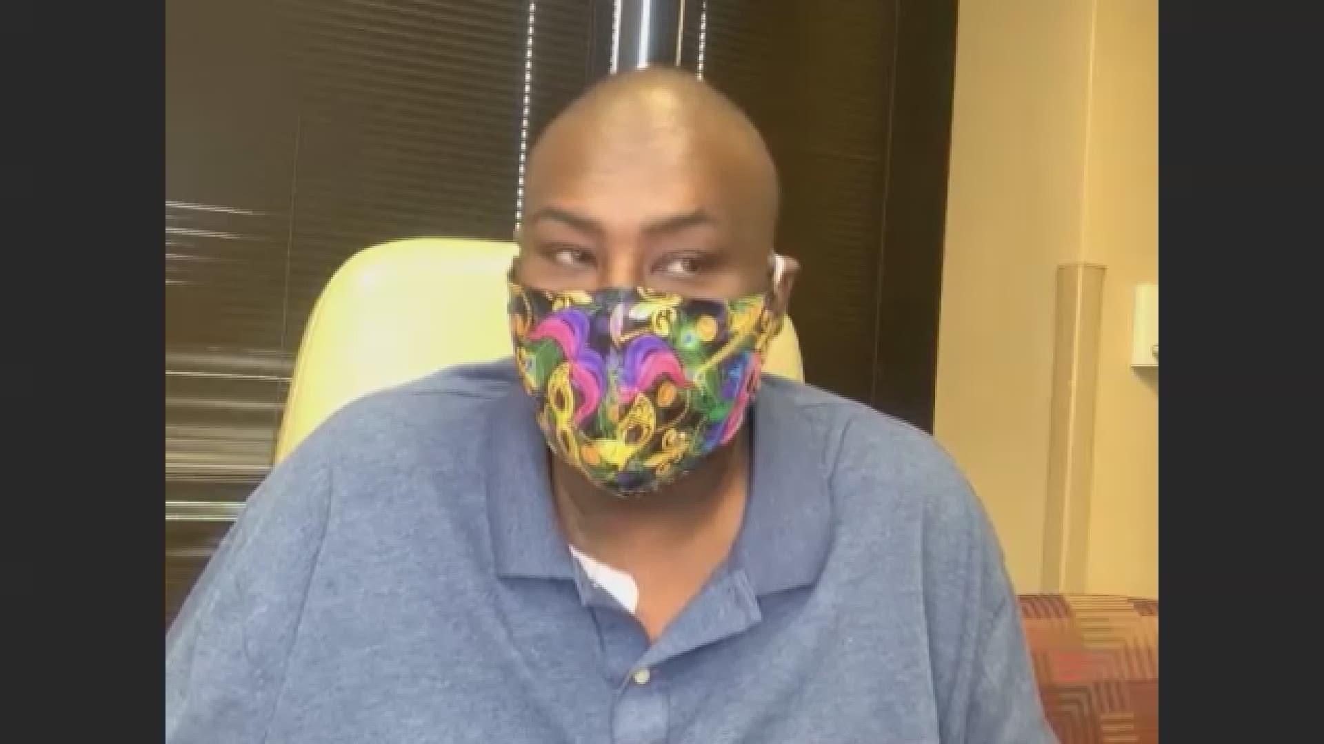 Louisville Man S Colon Cancer Battles Resembles Chadwick Boseman Whas11 Com