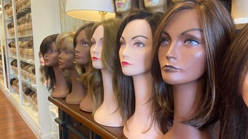 The Wig Shoppe in Louisville honors cancer patients, survivors with October giveaways