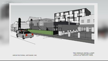 5-story boutique hotel planned for the Highlands on Bardstown Road
