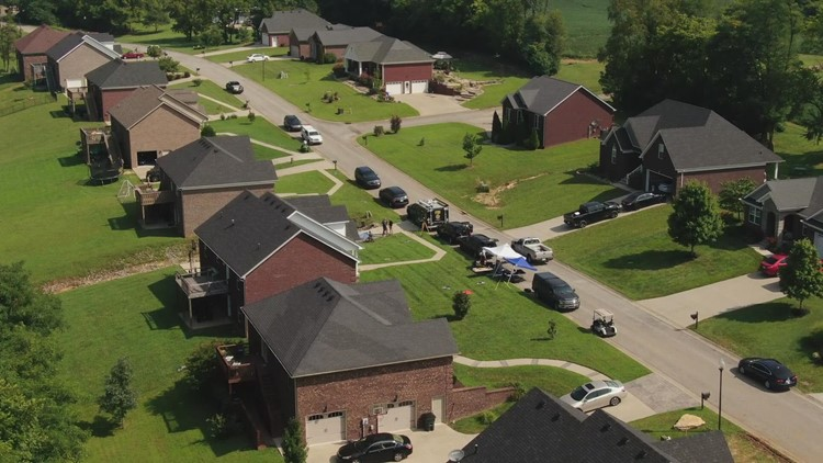 Crystal Rogers investigation: FBI search in Bardstown neighborhood continues into the night