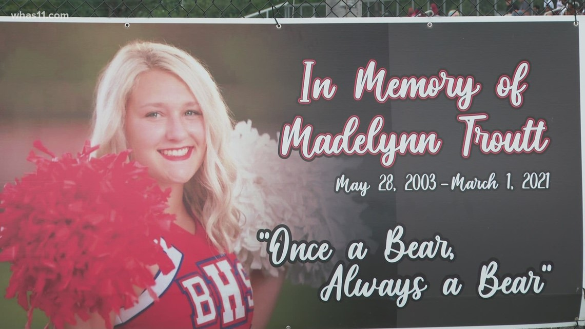 Brothers do graduation walk at Bulter High for sister Madelynn Troutt who was killed in crash