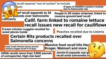 Do more recalls mean our food is less safe?