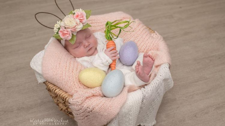 PHOTOS | Easter eye candy: NICU babies at Baptist Health Louisville