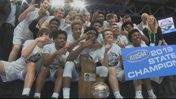 Trinity beats Scott County 50-40; captures 2nd state title
