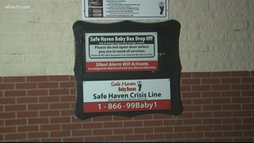 Newborn baby surrendered at Safe Haven Box in Seymour