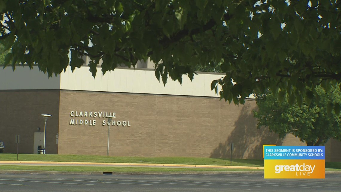 GDL: Clarksville Middle School on Great Day Live