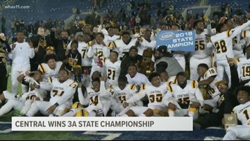 Central defeats Corbin 20-19, wins state championship