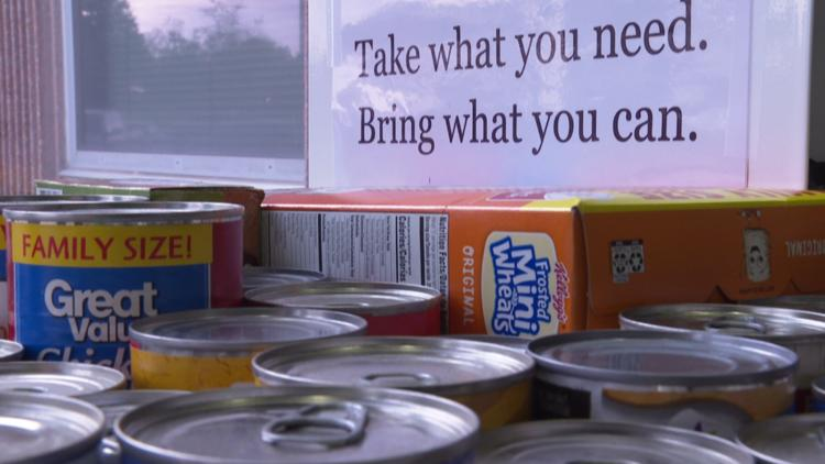 'People are hungry': Indiana prosecutor puts food pantry in courthouse building