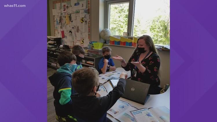 Slate Run Elementary teacher wins ExCel Award