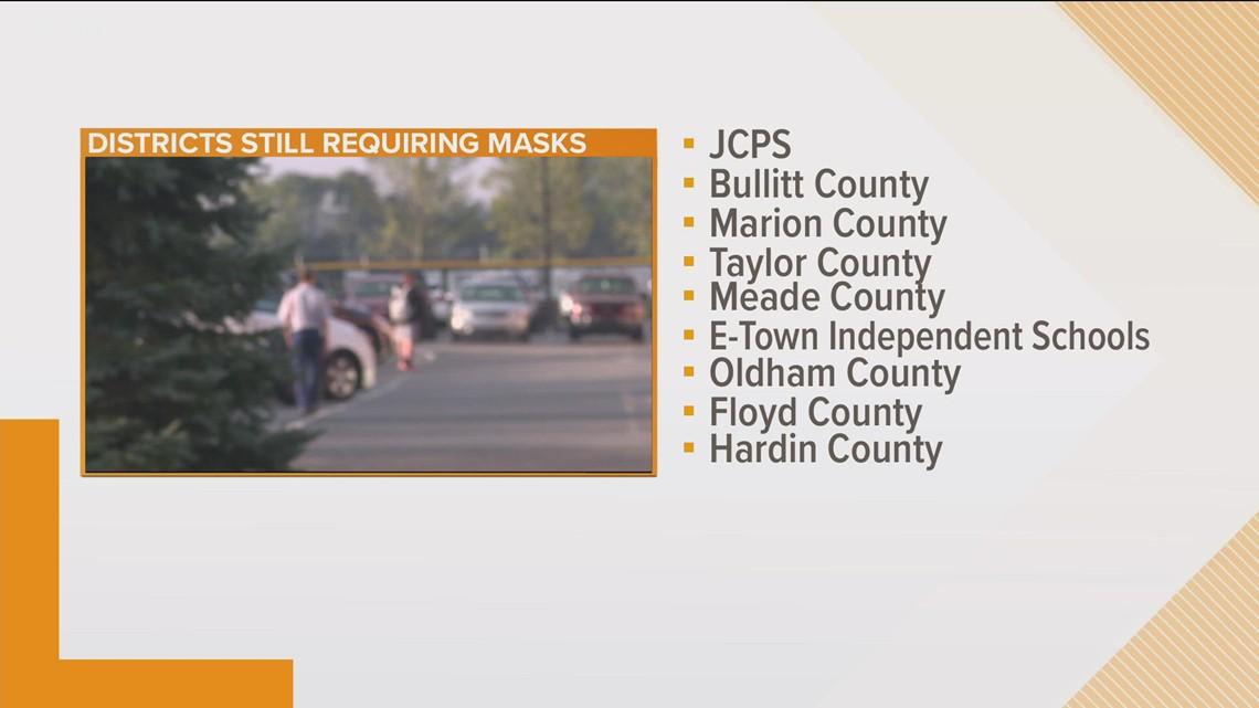 Kentucky school districts keep mask mandates after passage of Senate Bill 1