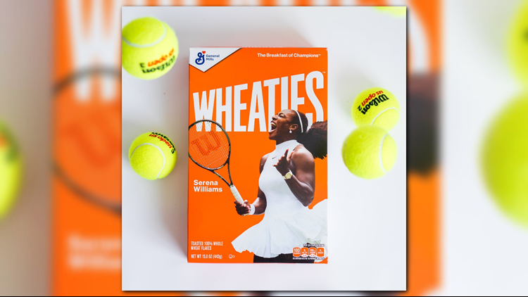 Serena Williams lands coveted Wheaties box; becomes 2nd black woman tennis player featured