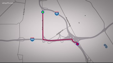 Paving on I-65S could cause traffic troubles