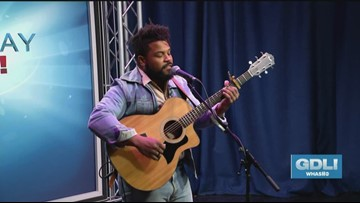 Scott T. Smith performs on Great Day Live