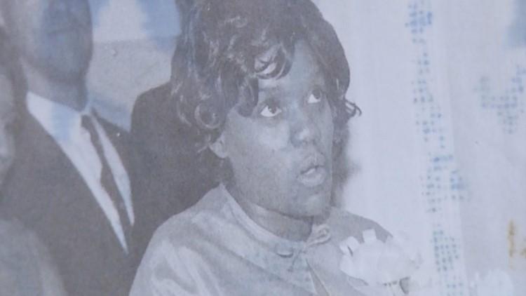 A candid photo of Alberta Jones.