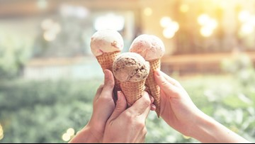 Kids can get a free ice cream cone for reciting Pledge of Allegiance on July 4