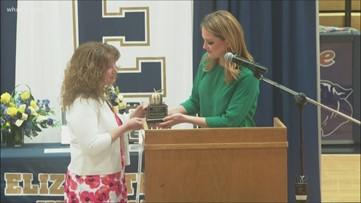 Elizabethtown high school teacher wins ExCEL Award, surprises other nominees
