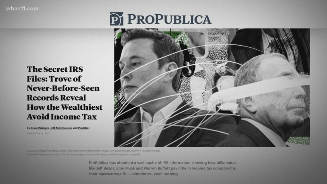 Many of the uber-rich pay next to no income tax, ProPublica reports