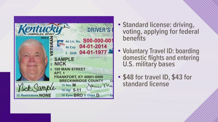 kentucky to offer new driver's license in 2019 | whas11