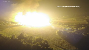 911 calls and exclusive drone images reveal minutes after pipeline explosion