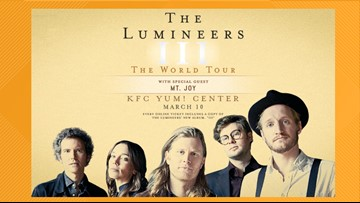 The Lumineers add Louisville to their North American Tour
