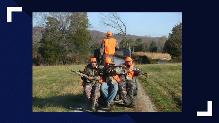 Kentucky Wounded Heroes hunting trip