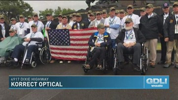 Korrect Optical gives back to those who have served