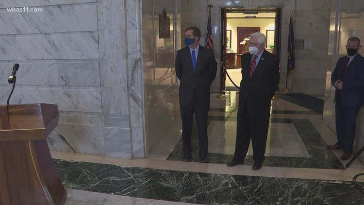 Kentucky Gov. Beshear responds to questions about bills, vetoes and abandoned mine land grant