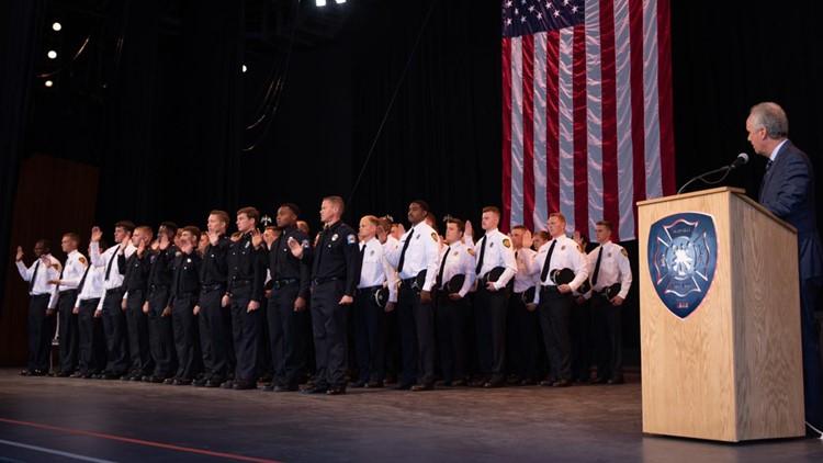 Graduation ceremony celebrates Louisville's newest firefighters