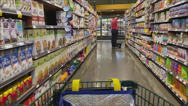 Are grocery stores stockpiling some inventory due to rising food costs?