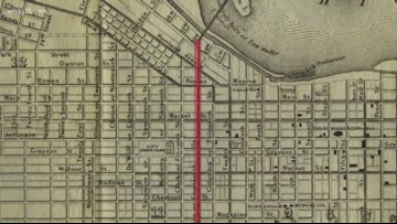 Why doesn't Louisville have a 14th Street?