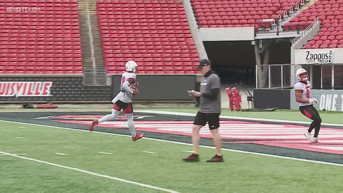 Louisville football excited for 'normal summer'