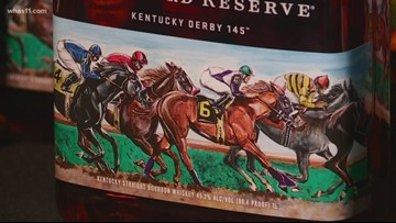 Woodford Reserve announces 2019 Kentucky Derby bottle