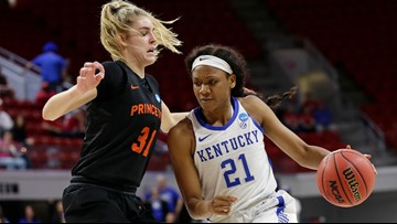 Murray, Kentucky beat Princeton 82-77 in NCAA first round