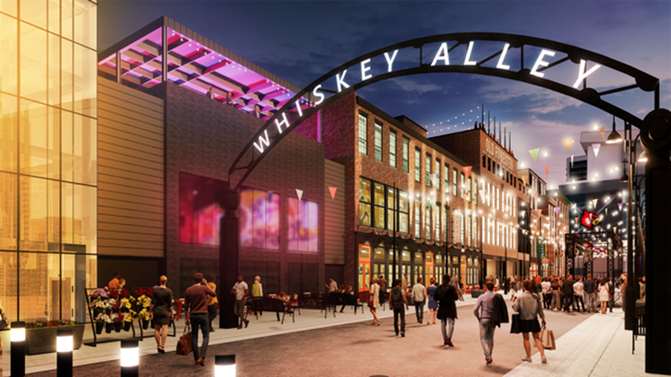 Whiskey Alley could become Louisville's newest entertainment district for tourists and locals
