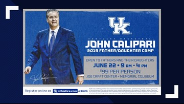 Dads and daughters will tip off at John Calipari Basketball Camp