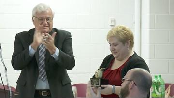 Kelli Dattilo of Doss High Schools receives ExCel Award
