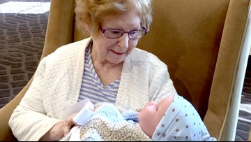 'It is super emotional' | Offering comfort to nursing home patients through baby dolls