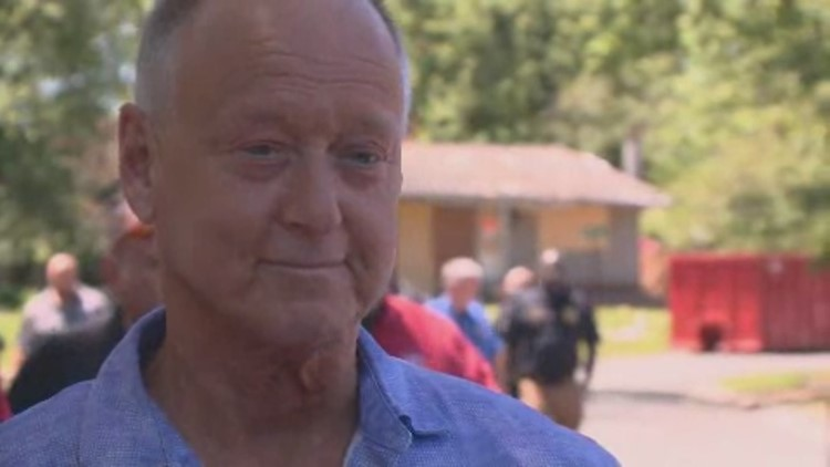 VIDEO: Jefferson Mayor Mike Moore speaks after visiting house explosion site