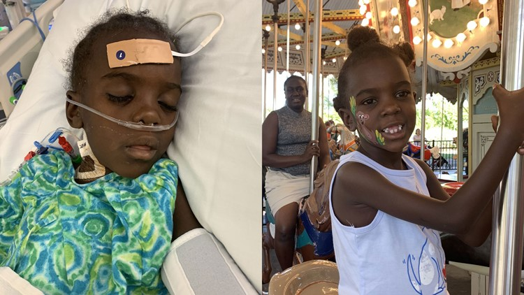 Logose in hospital, on Merry Go Round side-by-side